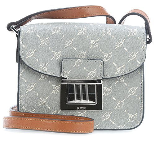 Joop Damen Cortina Cosima Shoulderbag Xshf Schultertasche, 5x13x17 cm Grau (Light Grey)