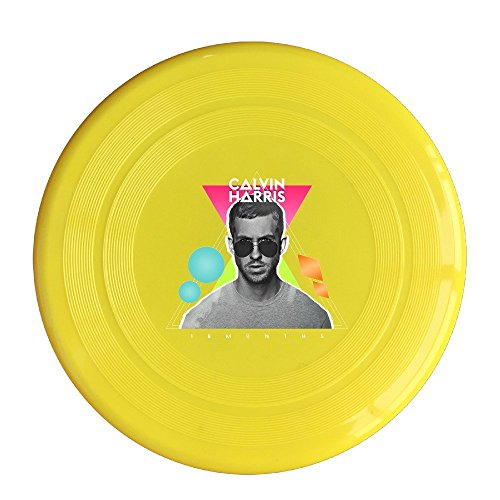 Yellow, One Size : AOLM Famous Singer Harris Outdoor Game Frisbee Flying Discs Yellow