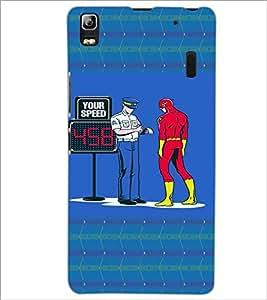 PrintDhaba Funny Image D-4460 Back Case Cover for LENOVO K3 NOTE (Multi-Coloured)