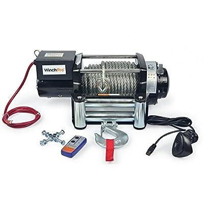 Elektrischen Seilwinde 12V 7700kg Winch Spillwinde 17000lbs für Kran, 4x 4, SUV und LKW