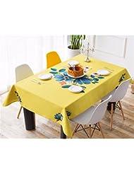 Materassi ad aria 140*220cm beige marrone Checker scandinavo minimalista Instagram Garden picnic rettangolare da pranzo tovaglia in cotone lino quadrato eco-friendly copre