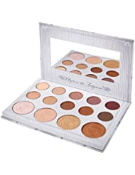 BH Cosmetics Carli bybel 14 color eyeshadow & highlighter palette (CARLI BYBEL)