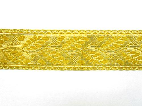 Braid Generäle Beamte Spitze Gold Mylar Eiche Blatt 58mm Rank Markieren Rand von Meter R822 -