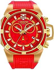 Techno Sport Chrono Reloj para mujer - oro/coral