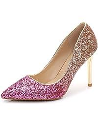 Amazon Para Ri Sheng es Zapatos De Adornos Tacón 7nxAqgrw7p