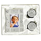 BABY PHOTO FRAME & MY FIRST CURL TOOTH BOX GIFT SET BIRTH SHOWER CHRISTENING NEW - BARGAINS-GALORE - amazon.co.uk