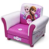 Disney Frozen - Poltroncina per bambini imbottita, motivo: Anna & Elsa