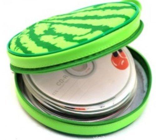 Fhouses 40Disc CD-DVD Halter Hülle Case Hart-Tasche Tragetasche, Green C, 2 2-cd-tasche