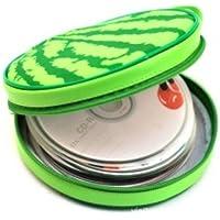 Zdan.uu 40 Disc World Global Map CD DVD Holder previene daños por arañazos o Suciedad (Green C)