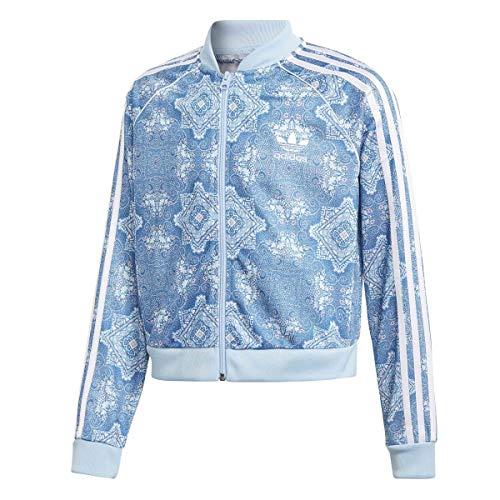 adidas Culture Clash Kinder HELLBLAU JACKEN - Adidas Hellblau Jacke