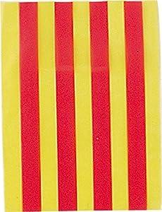 Verbetena - Bandera plástico Cataluña, 20x30 cm, bolsa 5x10 metros (011200072)