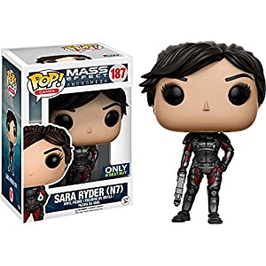 Funko Pop Sarah Ryder N7 Exclusiva Best Buy (Mass Effect Andromeda 187) Funko Pop Mass Effect