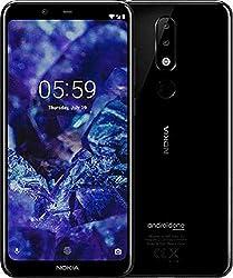Nokia 5.1 Plus Smartphone (14,73 cm (5,8 Zoll) HD+ Display, 13 MP + 5 MP Dual Rückkamera, 8 MP Frontkamera, 32 GB interner Speicher, 3 GB RAM, Dual-Sim) gloss schwarz