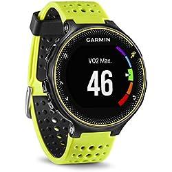 Garmin Forerunner 230 - Reloj de carreja con GPS y funciones de conexion, unisex, color amarillo y negro, talla regular