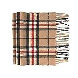 Oxfords Cashmere Reine Schurwolle Luxury Tartan Schal, Camel Thomson (Textilien)
