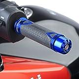 Contrapesos Manillar Puig Suzuki GS 500 F 04-08 corto azul