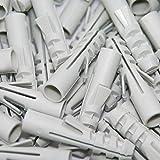 100 Spreizdübel Ø 6mm, Flossendübel, Dübel aus Nylon für Holzschrauben oder Spanplattenschrauben