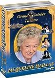 Les Grandes soirées du théâtre avec Jacqueline Maillan - Coffret 3 DVD : Coup de soleil - Lily et Lily - On purge bébé