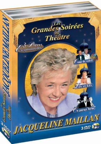 Coffret théâtre Jacqueline Maillan, vol.1 : Coup de soleil / Lily et Lily / On purge bébé