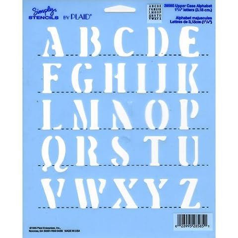 Plantilla - Stencil - Alphabet