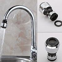 ETbotu 360Grad drehbar Wasserhahn Filter Spitze, Wasser Erzeugung Wasserhahn Spritzschutz Economiser Küche Supplies