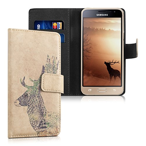 kwmobile-chic-synthetic-leather-case-for-the-samsung-galaxy-j3-2016-duos-with-convenient-stand-funct