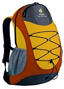 deuter rucksack eurofamily ac zip 20 sun orange canvas. Black Bedroom Furniture Sets. Home Design Ideas