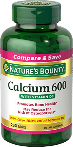 natures-bounty-high-potency-calcium-600-d-tablets-0250ct-117-bottles-by-nbtyinc-us-nutritioninc