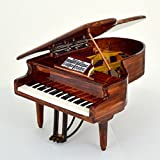 Shoponica Replique Piano Miniature en Bois