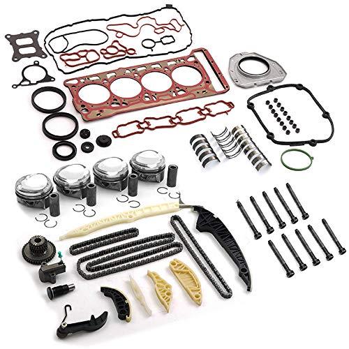 Glyqxa Rebuild Motorüberholungs-Kit für A3 A4 A5 1.8 TFSI CJEB CJED EA888 Gne3