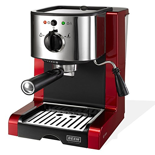 BEEM 02051 Espresso Perfect (Verbesserte Version 2017!) | Espressomaschine für Pulver & Pads (1350...