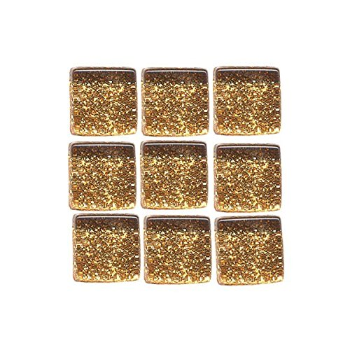 MosaixPro 10 x 10 x 4 mm 200 g 215-piece Paillettes en Verre, carrelage, cuivre