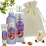 Coffret Baby Shower DOUCE – Trio Bain et Soin : 1 Gel Douche 250ml, 1 Creme Main 25...