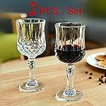 PrimeWorld Sperior Crystal Shine Wine Glass Set of 2 Pcs