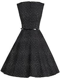 Bbonlinedress 50s Vestidos Vintage Retro Rockabilly Clásico