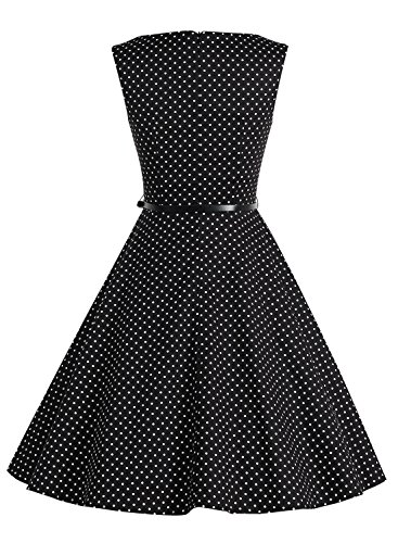 Bbonlinedress modèle 2 Vintage rétro 1950's Audrey Hepburn robe de soirée cocktail année 50 Rockabilly Rose Brown Flower