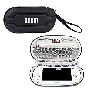 BUBM Sony PSV Tasche, die geeigenet für Reisen und für PS Vita, tragbare Tasche von Game karten Groove, Schwarz
