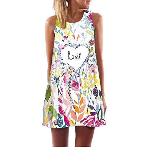 XuxMim Damen Spitze Minikleid Ärmellos Rückenfrei Kurz Kleider Transparent Abend Brautkleid Cocktail Ballkleid(Mehrfarbig-1,XX-Large)