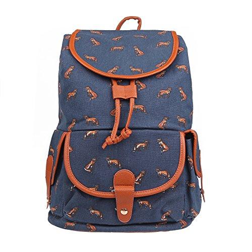 onever-women-ladies-teenager-girls-vintage-printed-fox-canvas-backpack-large-capacity-schoolbag-casu