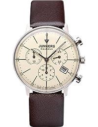 Junkers Damen-Armbanduhr Chronograph Quarz Leder 60895
