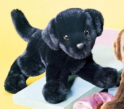 Plush Brewster - Perro Labrador de peluche, color negro por Douglas Cuddle Toys