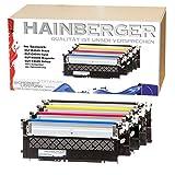 4x Hainberger XL Toner kompatibel zu Samsung CLT-404S Xpress C 430 W C 480 W C 480 FN C 480 FW CLT-K404S, CLT-C404S, CLT-M404S, CLT-Y404S