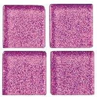 Light Pink MosaixPro 200/g 20/x 20/x 4/mm 63-Piece Glas Fliesen