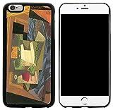Rikki Knight Hybrid-Schutzhülle für iPhone 6Plus & 6S Plus–Juan Gris Art Obstschale auf Tischdecke Design