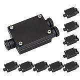 parlat Verbindungs-Muffe 2-fach, Outdoor, Kabelverbindungen 6-8mm IP68, 10 Stk