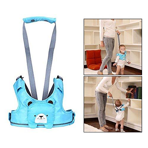 OFKPO Auxiliar de Caminar Cinturón Arnés de Seguridad, para Bebé Carcasa de Animales para Bebé Aprendizaje Excursionistas, azul