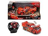 Dickie Toys 203084018 RC Cars 3 Lightning McQueen Crazy Crash Ferngesteuertes Fahrzeug, bunt