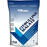 Pure Source Nutrition 100% Pure Citrulline Malate Powder 2:1 Ratio 1kg / 1000g Unflavoured Vegan Pump | Nitric Oxide