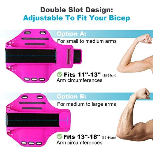 Zoom IMG-3 fascia sportiva da braccio haissky