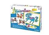 Avec Aquarellum junior chevaux, les enfants créent en quelques instants de véritables ouvres d'art. Aquarellum Junior Chevaux, un coffret pour créer et s'amuser Jeu très prisé par les jeunes demoiselles en particulier, Aquarelllum junior chevaux per...